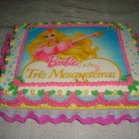 Bolo da Barbie de 4Kgs