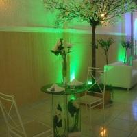 Mesa dos noivos Shelton Hall em Votorantim SP
