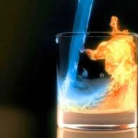 Flame Sambuca