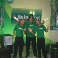 evento com Heineken