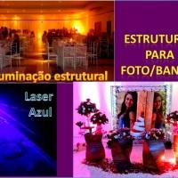 Estruturas para Foto/banner Iluminação estrutural