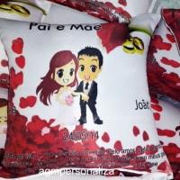 Lindas almofadas personalizadas tamanho 25x25...  Todos os temas e foto (Arte grátis!)  São acompa