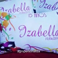 Lindas almofadas personalizadas tamanho 20x30...  Todos os temas e foto (Arte grátis!)  São acompa