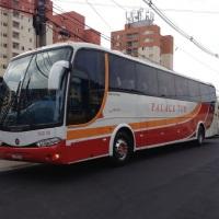 Ônibus super luxo 46 lugares.