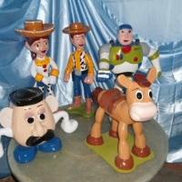 festa do Toy Store em fibra