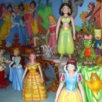 festa das Princesas em fibra