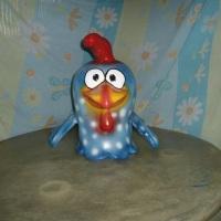 festa da galinha pintadinha em fibra
