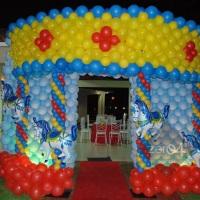 Carrossel de balões