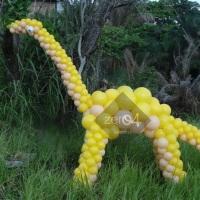 Dinossauro de balões