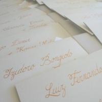 caligrafia |tinta dourada